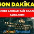 Merkez Bankası Faiz İndirimi