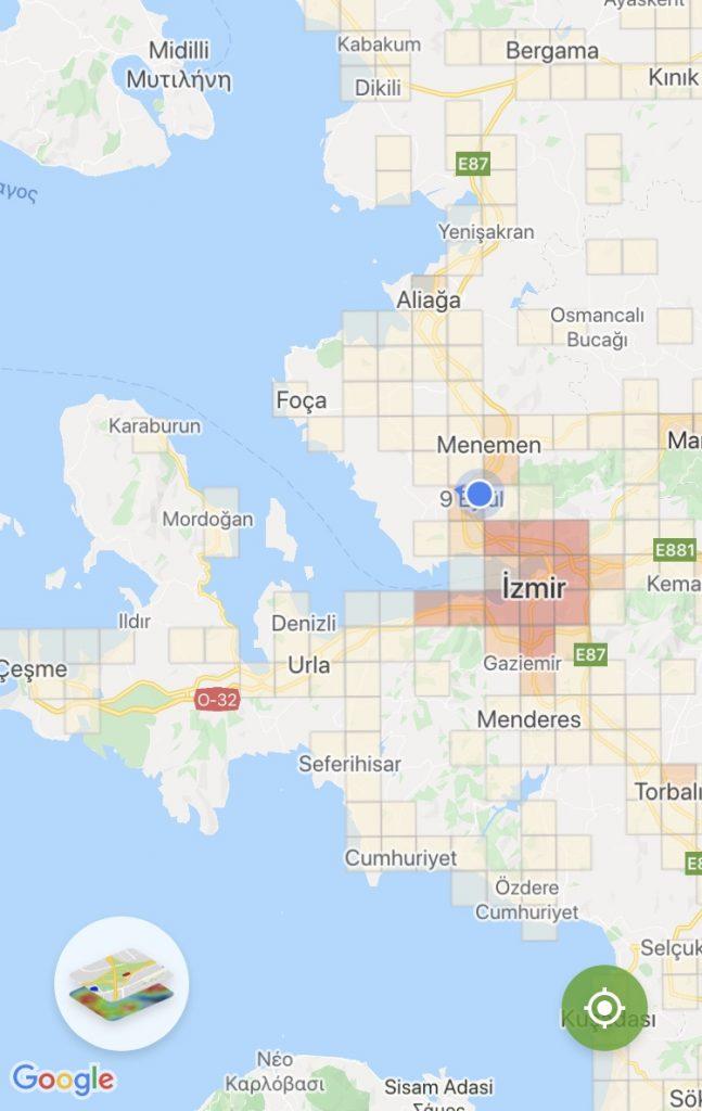 İzmir Korona Haritası